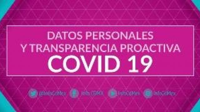Datos personales y transparencia proactiva