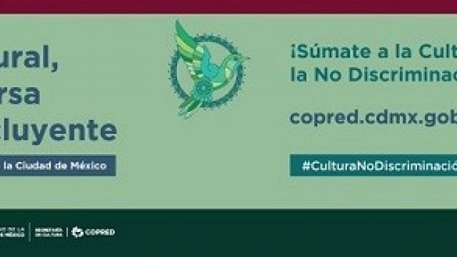 Mes de la Cultura por la No Discriminación